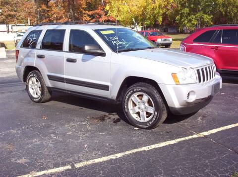 2006 Jeep Grand Cherokee for sale at LAKESIDE MOTORS LLC in Houghton Lake MI