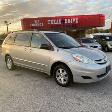 2006 Toyota Sienna for sale at Texas Drive LLC in Garland TX