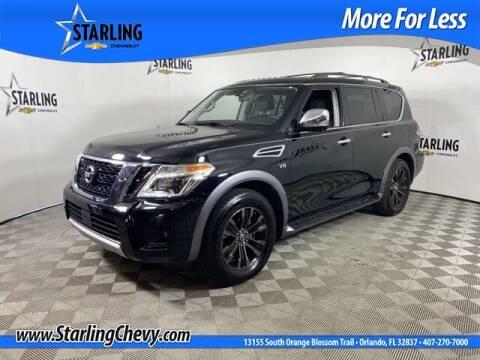 2018 Nissan Armada for sale at Pedro @ Starling Chevrolet in Orlando FL