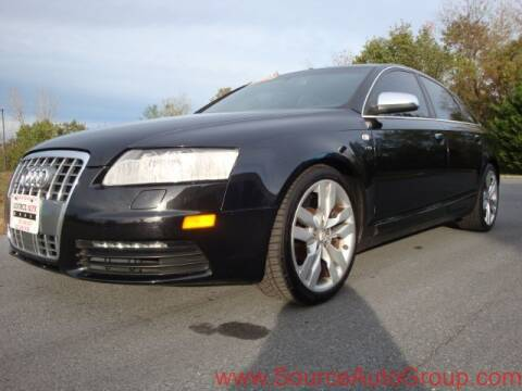 2007 Audi S6 for sale at Source Auto Group in Lanham MD