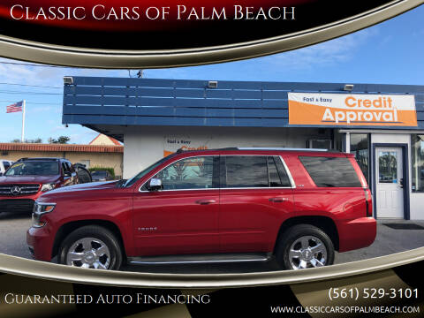 2015 Chevrolet Tahoe for sale at Classic Cars of Palm Beach in Jupiter FL