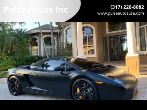 2008 Lamborghini Gallardo for sale at Pulse Autos Inc in Indianapolis IN