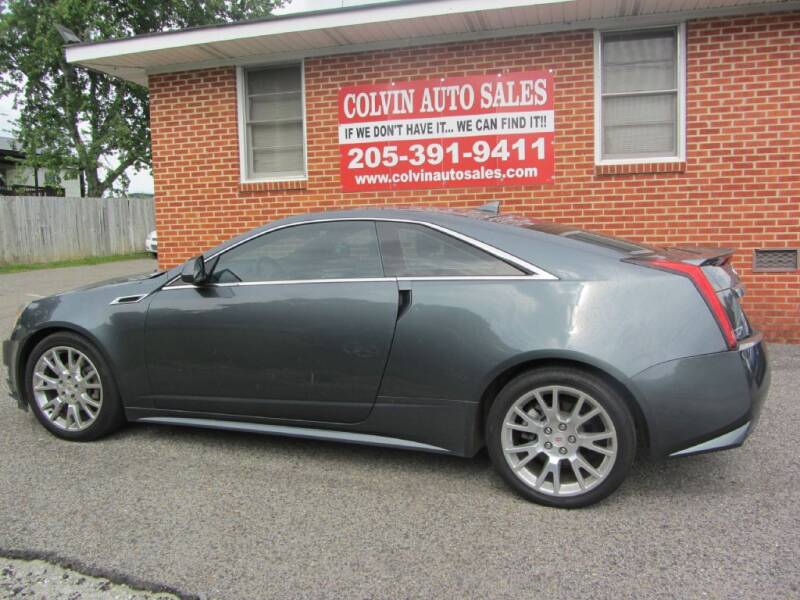 2012 Cadillac CTS for sale at Colvin Auto Sales in Tuscaloosa AL