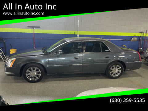 2009 Cadillac DTS for sale at All In Auto Inc in Addison IL