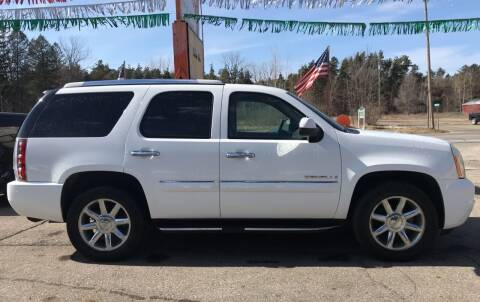 2007 GMC Yukon for sale at CARS R US in Caro MI