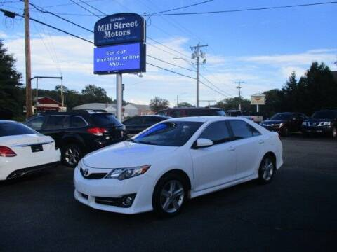 2014 Toyota Camry for sale at Mill Street Motors in Worcester MA