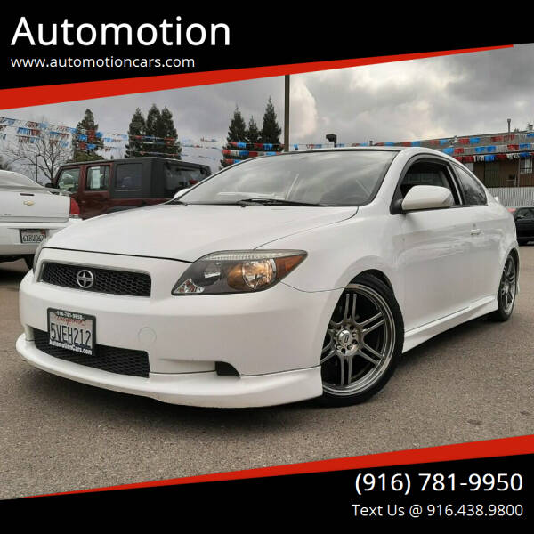 2007 Scion tC for sale at Automotion in Roseville CA
