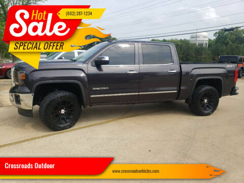 2014 GMC Sierra 1500 for sale at Crossroads Outdoor in Corinth MS
