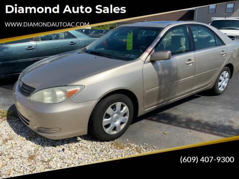 2002 Toyota Camry for sale at Diamond Auto Sales in Pleasantville NJ