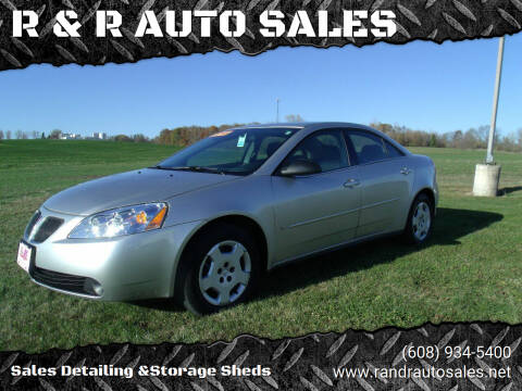 2006 Pontiac G6 for sale at R & R AUTO SALES in Juda WI