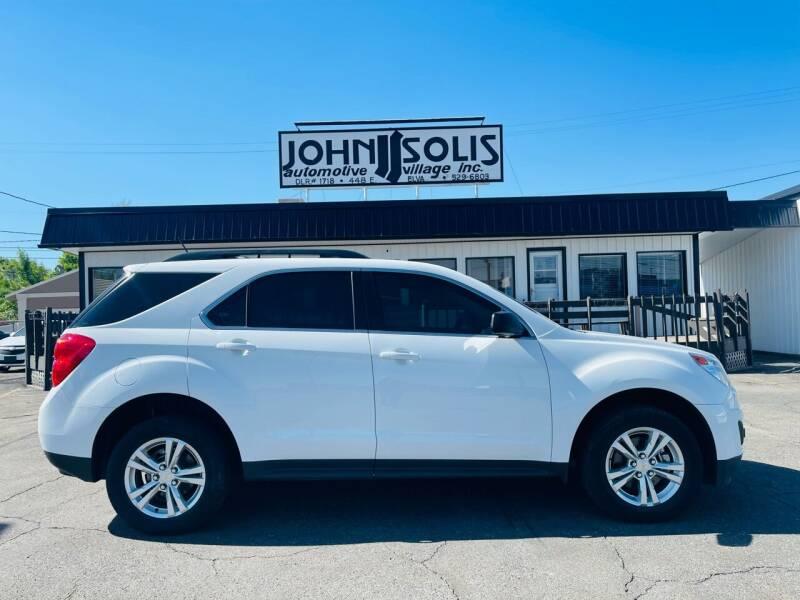 2015 Chevrolet Equinox for sale at John Solis Automotive Village in Idaho Falls ID