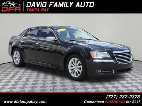2012 Chrysler 300 for sale at David Family Auto in New Port Richey FL