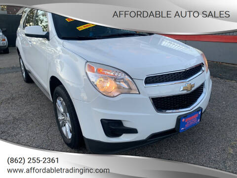 2013 Chevrolet Equinox for sale at Affordable Auto Sales in Irvington NJ