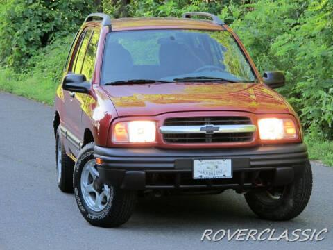 2001 Chevrolet Tracker for sale at Isuzu Classic in Cream Ridge NJ