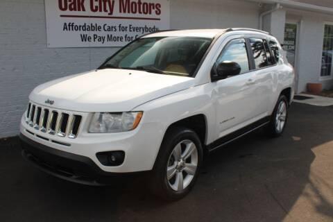 2011 Jeep Compass for sale at Oak City Motors in Garner NC