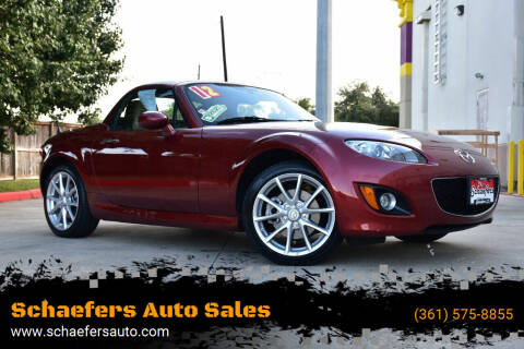 2012 Mazda MX-5 Miata for sale at Schaefers Auto Sales in Victoria TX