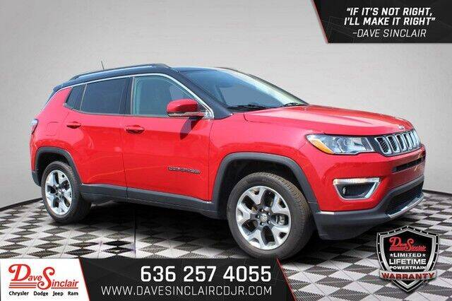 2018 Jeep Compass for sale at Dave Sinclair Chrysler Dodge Jeep Ram in Pacific MO