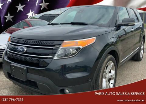 2013 Ford Explorer for sale at Paris Auto Sales & Service in Big Rapids MI