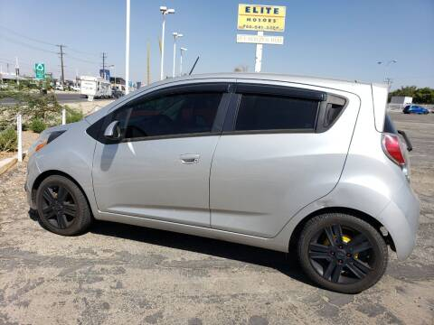 2015 Chevrolet Spark for sale at ELITE MOTORS in Victorville CA