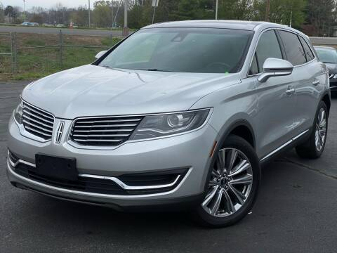 2016 Lincoln MKX for sale at MAGIC AUTO SALES in Little Ferry NJ