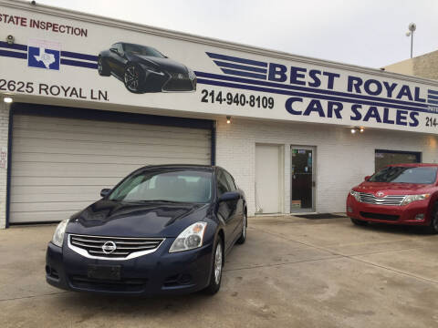 2012 Nissan Altima for sale at Best Royal Car Sales in Dallas TX