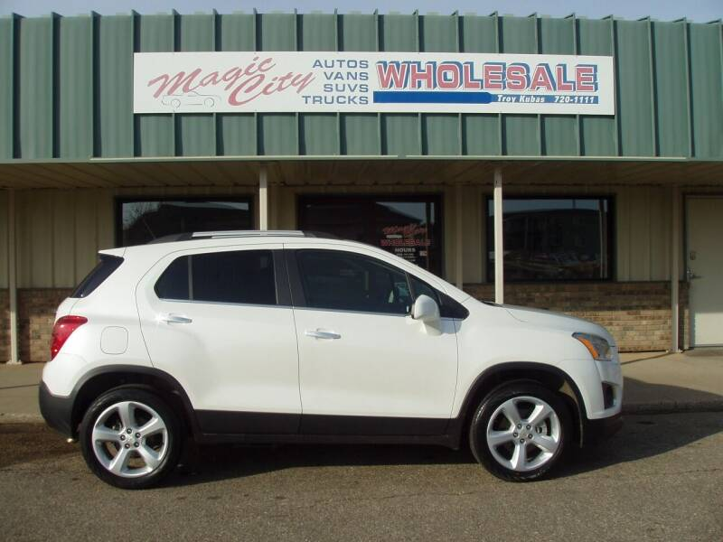 2015 Chevrolet Trax for sale at Magic City Wholesale in Minot ND