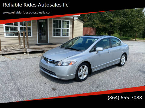 2006 Honda Civic for sale at Reliable Rides Autosales llc in Greer SC