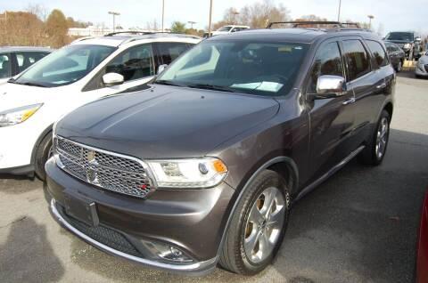 2015 Dodge Durango for sale at Modern Motors - Thomasville INC in Thomasville NC