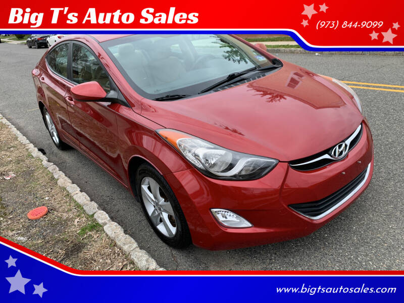 2013 Hyundai Elantra for sale at Big T's Auto Sales in Belleville NJ