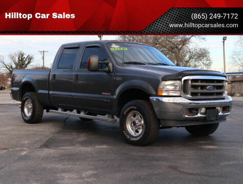 2003 Ford F-250 Super Duty for sale at Hilltop Car Sales in Knox TN
