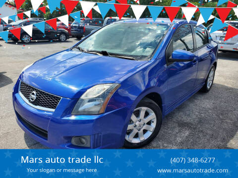 2011 Nissan Sentra for sale at Mars auto trade llc in Kissimmee FL