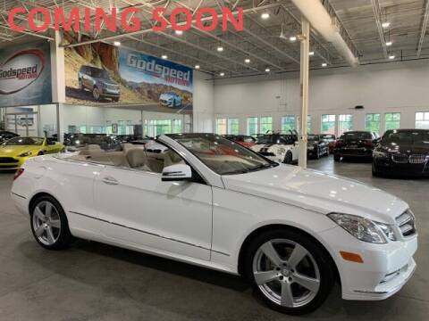 2013 Mercedes-Benz E-Class for sale at Godspeed Motors in Charlotte NC