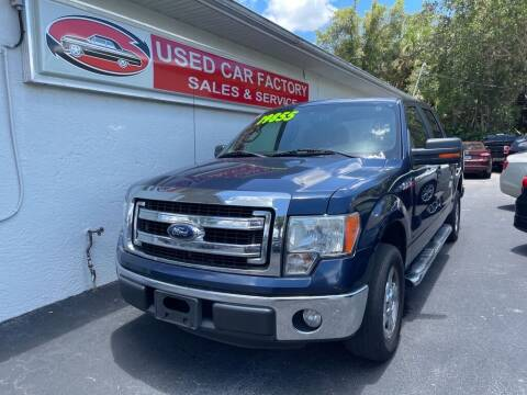 2013 Ford F-150 for sale at Used Car Factory Sales & Service in Port Charlotte FL