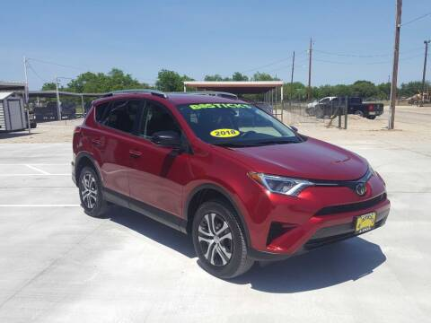 2018 Toyota RAV4 for sale at Bostick's Auto & Truck Sales in Brownwood TX