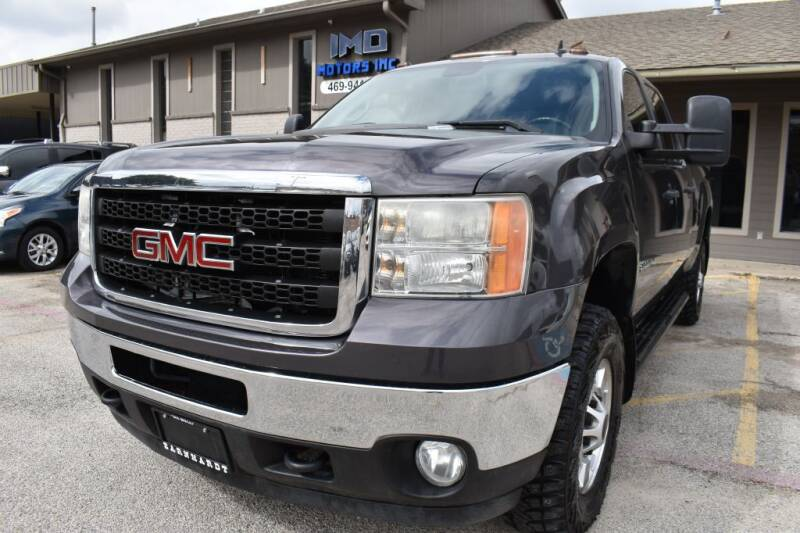 2011 GMC Sierra 2500HD for sale at IMD Motors in Richardson TX