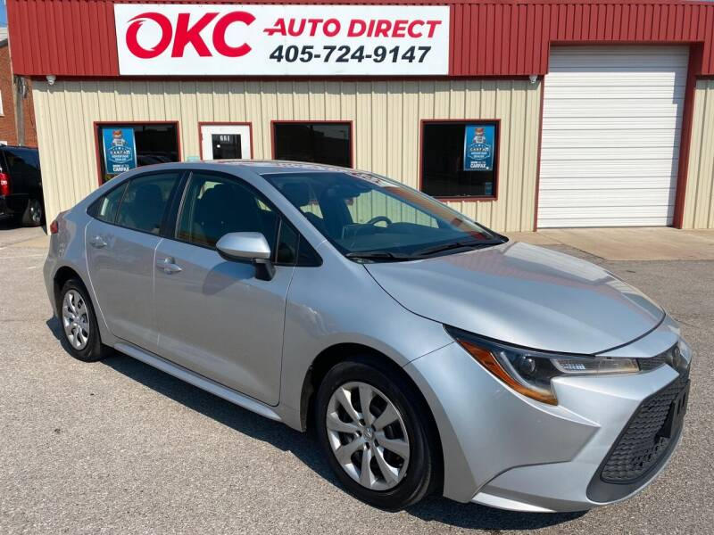 2020 Toyota Corolla for sale at OKC Auto Direct in Oklahoma City OK