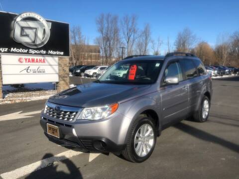 2011 Subaru Forester for sale at GT Toyz Motor Sports & Marine - GT Toyz Powersports in Clifton Park NY