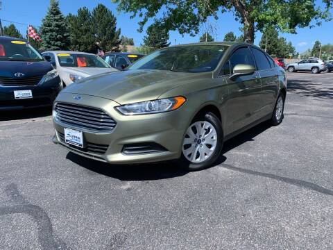 2013 Ford Fusion for sale at Global Automotive Imports of Denver in Denver CO