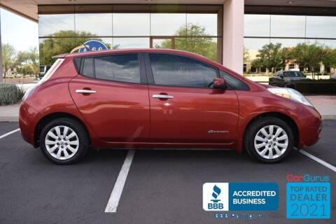 2015 Nissan LEAF for sale at GOLDIES MOTORS in Phoenix AZ