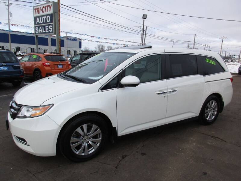 2014 Honda Odyssey for sale at TRI CITY AUTO SALES LLC in Menasha WI
