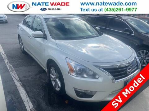 2014 Nissan Altima for sale at NATE WADE SUBARU in Salt Lake City UT