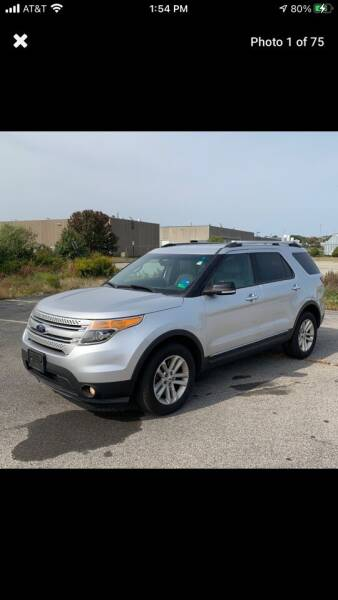 2014 Ford Explorer for sale at MCQ SALES INC in Upton MA