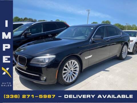 2012 BMW 7 Series for sale at Impex Auto Sales in Greensboro NC