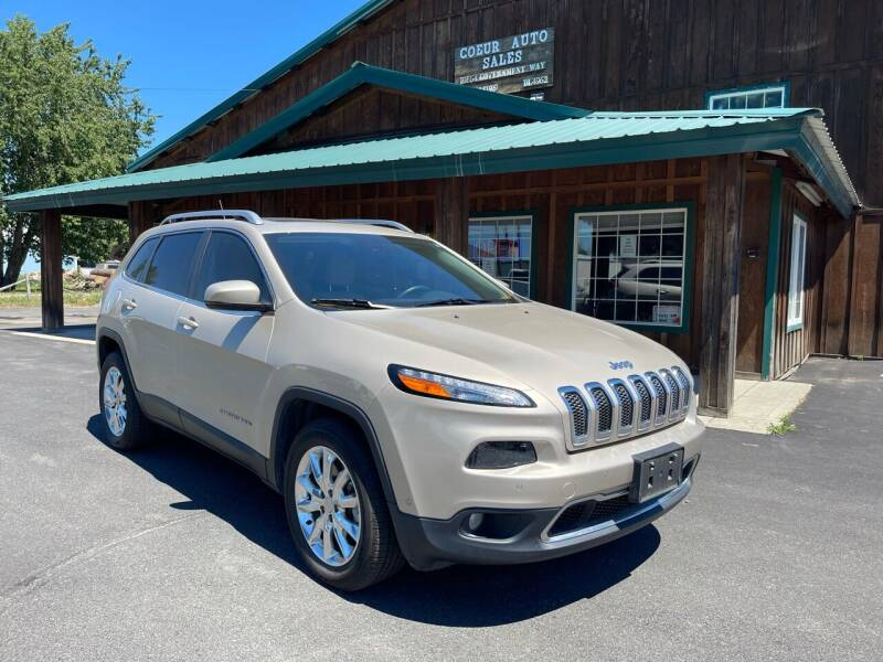 2015 Jeep Cherokee for sale at Coeur Auto Sales in Hayden ID