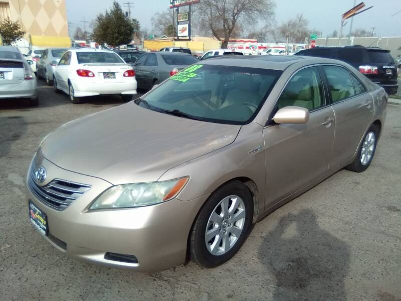2008 Toyota Camry Hybrid for sale at Larry's Auto Sales Inc. in Fresno CA