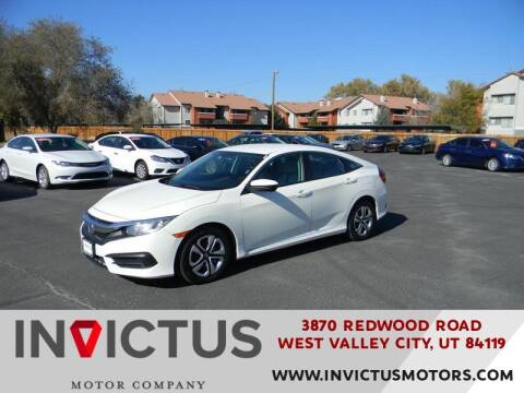 2018 Honda Civic for sale at INVICTUS MOTOR COMPANY in West Valley City UT