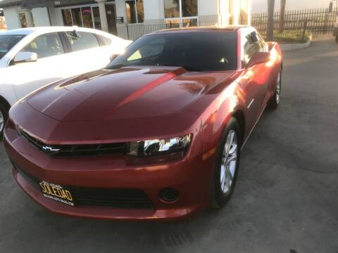 2015 Chevrolet Camaro for sale at Soledad Auto Sales in Soledad CA