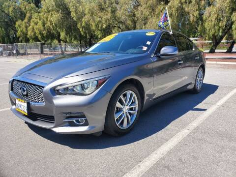 2017 Infiniti Q50 for sale at ALL CREDIT AUTO SALES in San Jose CA