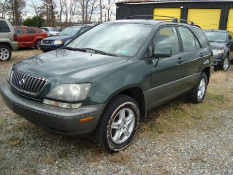 1999 Lexus RX 300 for sale at Branch Avenue Auto Auction in Clinton MD
