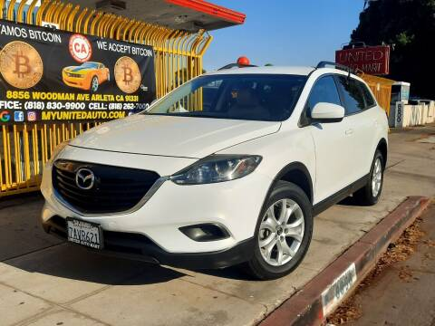 2013 Mazda CX-9 for sale at UNITED AUTO MART CA in Arleta CA